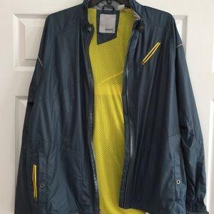 Reebok Mens windbreaker jacket Media Pocket